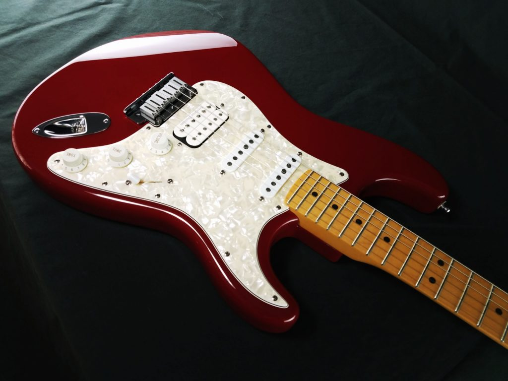 Fender Stratocaster (Strat) Refinished in Renaissance Red